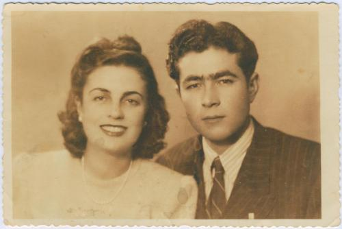 Mehpare Taner ve Ahmet Taner7 Ekim 1948